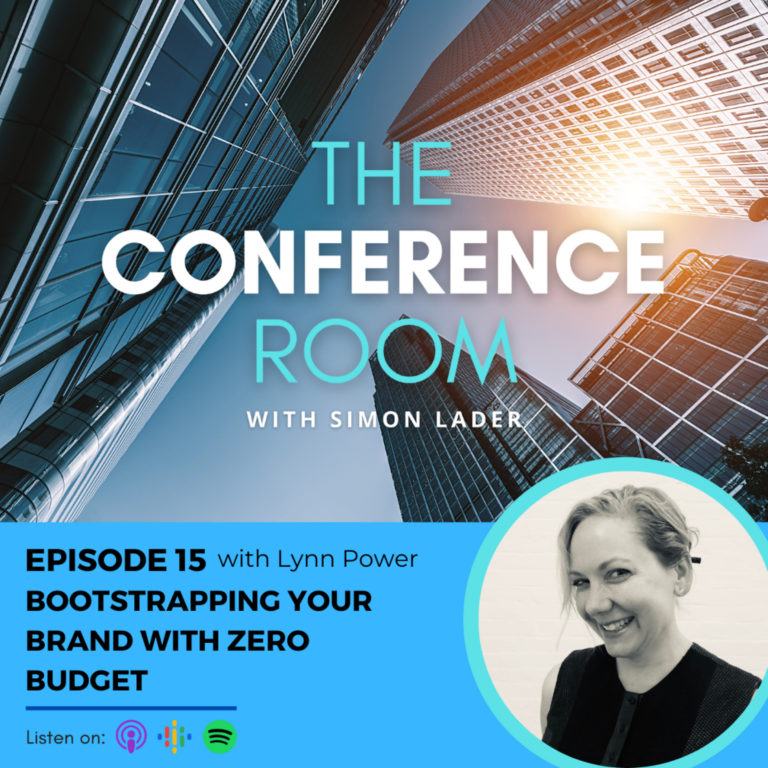 Episode 15 – Bootstrapping your Brand On Zero Budget with Lynn Power